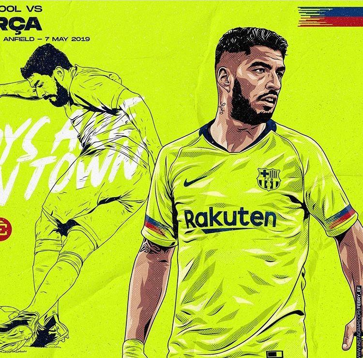 Pin De Alexis Em Barcelona Illustration Desenho Futebol Futebol