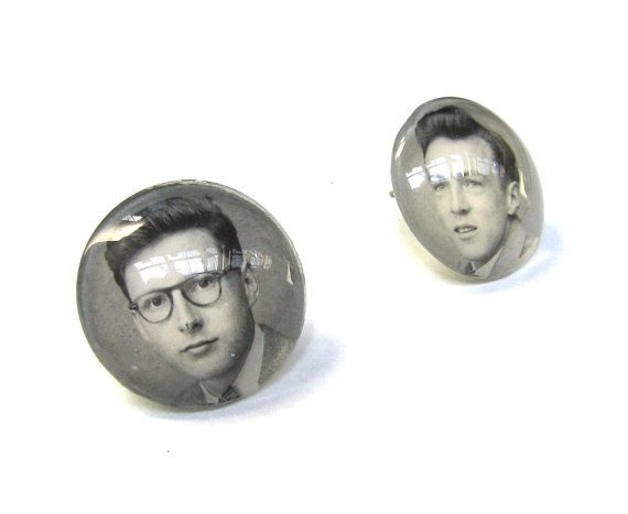 SO COOL! Yearbook Yourself  CUSTOM Earrings Made Using YOUR by SovereignSea, $25.00