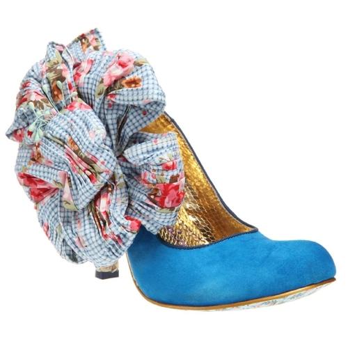 Joli World   IRREGULAR CHOICE: Burger N Fries in Light Blue   JoliWorld #heels  #shoes  #fashion