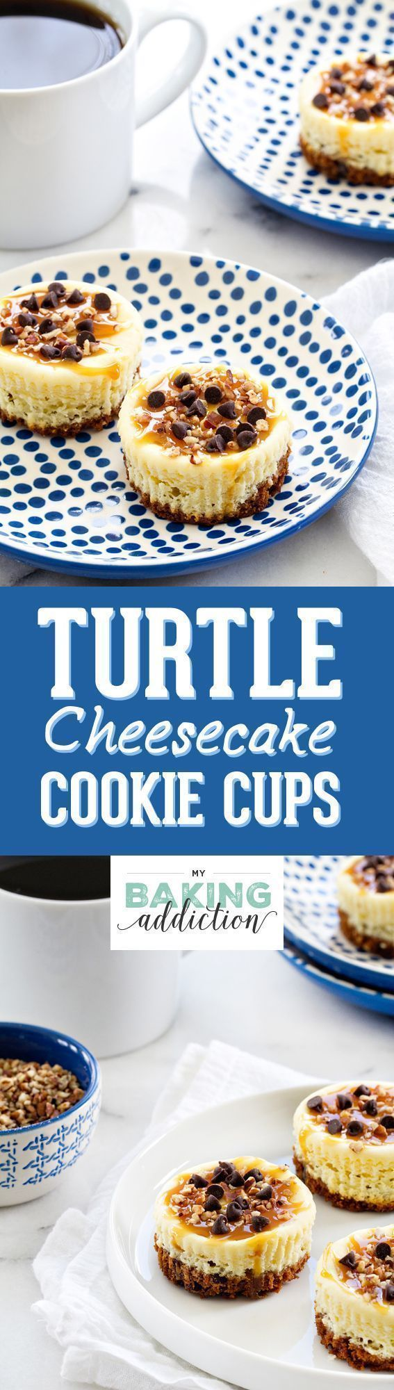 Turtle Cheesecake Cookie Cups are completely indulgent treats. And since they're mini, you can have a few! #turtlecheesecakerecipes Turtle Cheesecake Cookie Cups are completely indulgent treats. And since they're mini, you can have a few! #turtlecheesecakerecipes Turtle Cheesecake Cookie Cups are completely indulgent treats. And since they're mini, you can have a few! #turtlecheesecakerecipes Turtle Cheesecake Cookie Cups are completely indulgent treats. And since they're mini, you can have a fe #turtlecheesecakerecipes