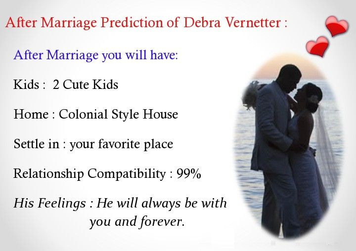 Check my results of Your After Marriage Prediction