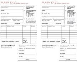 Image result for outside order form mary kay
