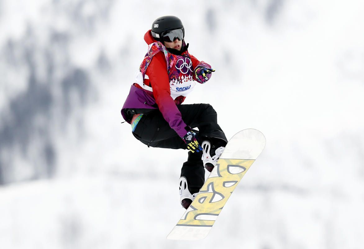 Swiss rider Sina Candrian's 1080 was the first ever landed by a woman in a slopestyle contest. Gold medalist Jamie Anderson didn't even attempt one. Candrian would have received more points for the rare trick if she hadn't dragged her hand on the landing.