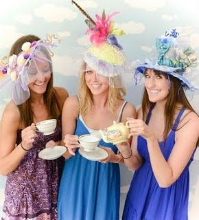 I Would Love To Have A Royal Wedding Hat Themed Bridal Shower How