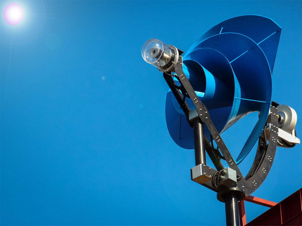 Liam F1 Uwt Es Una Nueva Generacin De Turbinas Elicas Para Uso 25 Floppy Drive Wind Generator Construction Details Domstico Que Produce Hasta Un 50 Energa Gratis Su Hogar