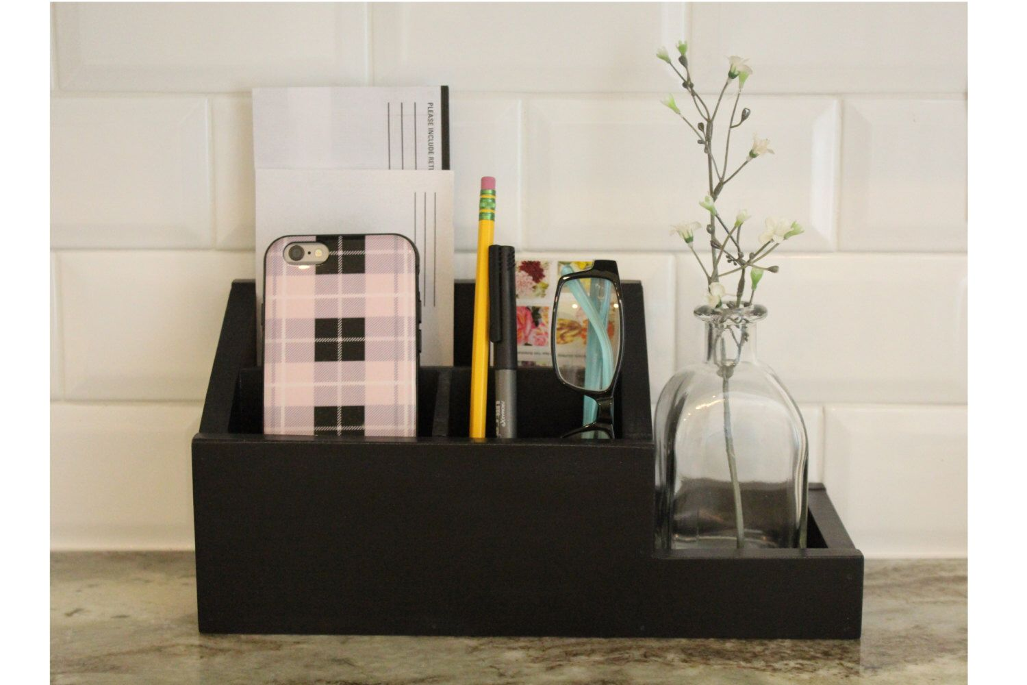 Pin By Wendy Small On Charging Stations Desk Organizers Countertop Organization Charging Station Organizer Desk Organization