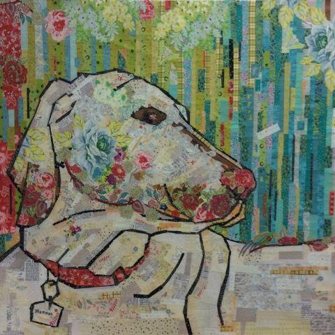 Fiberworks Best Friend Dog Collage Wall Hanging Quilt Pattern