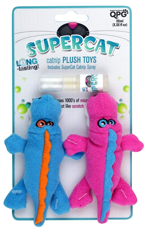 SuperCat Plush Toy Yeti Duo with PlayActivated Catnip