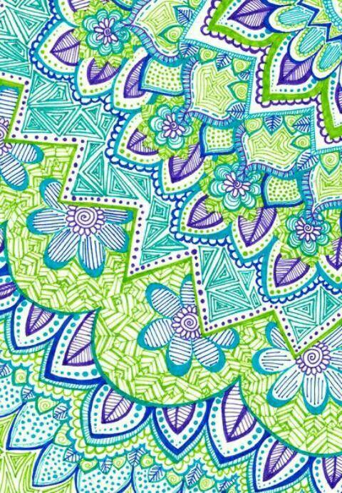 Colores Zendoodle Doodle Art Doodles Art