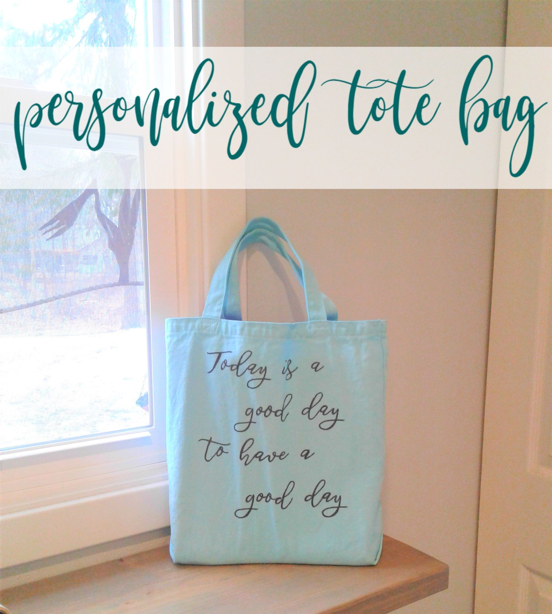 Diy Personalized Tote Bags What A