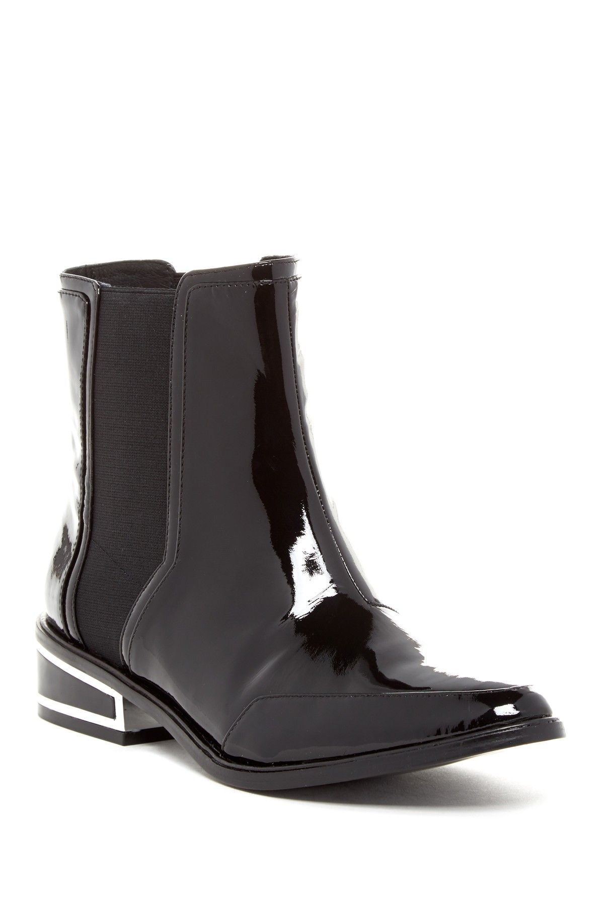 Need.  Rachel Zoe Black Patent Billie Ankle Boot