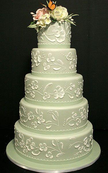 Pictures of Wedding Cakes - Wedding Cake Designs   Wedding Planning, Ideas & Etiquette   Bridal Guide Magazine