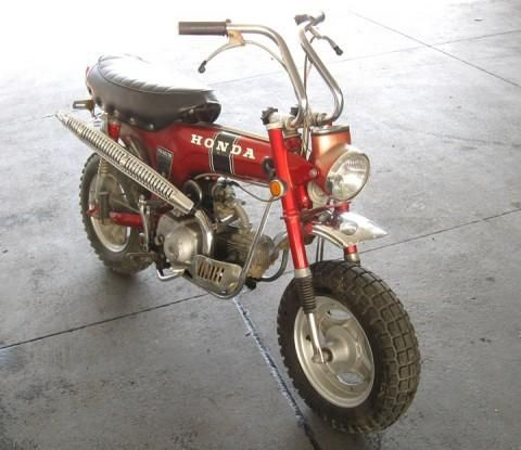 honda trail bike. do you remember these?   motorcycles & cars