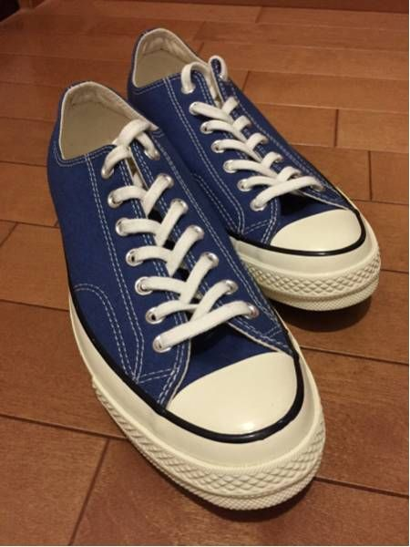 7f8625d0a79 Ultra-rare color! Navy! CONVERSE CT70 Chuck Taylor OX 28cm  image 1 ...