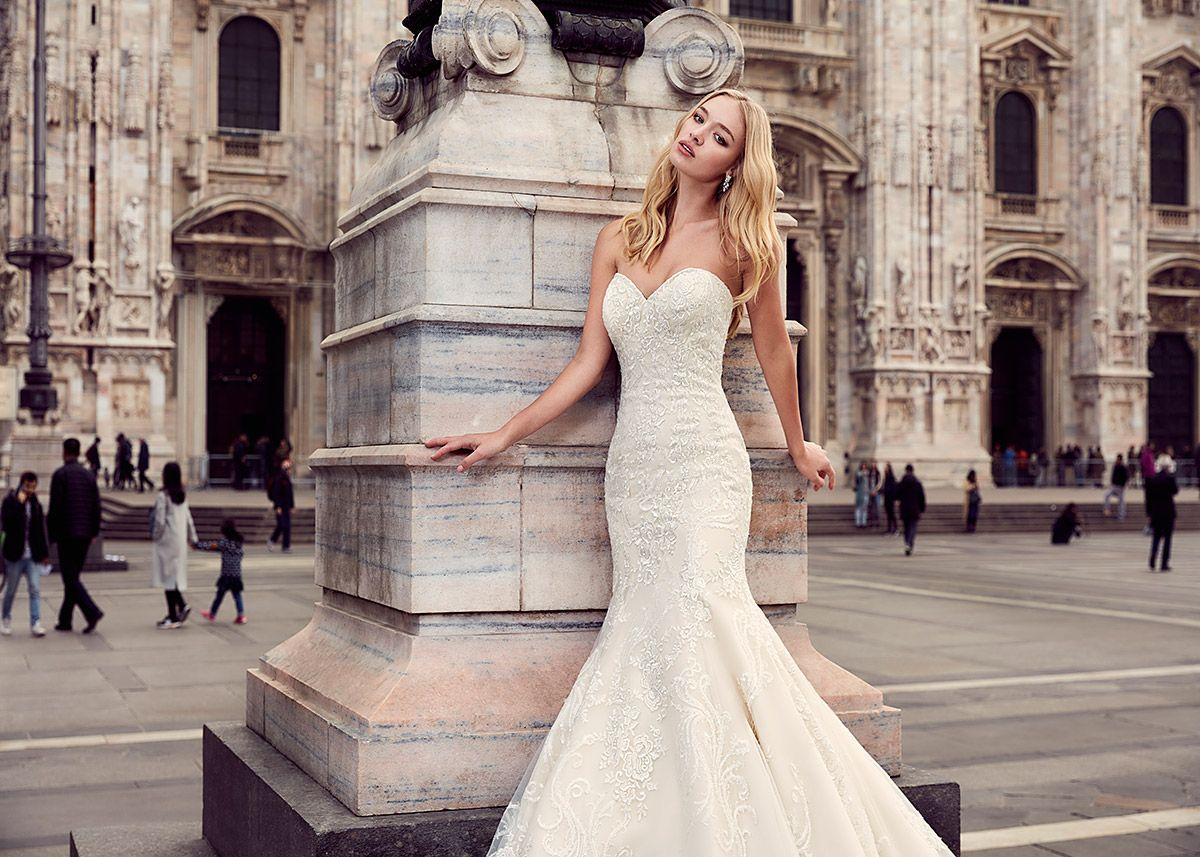 Eddy K Milano MD196- Find gown @ De Ma Fille Bridal in Ft. Worth ...