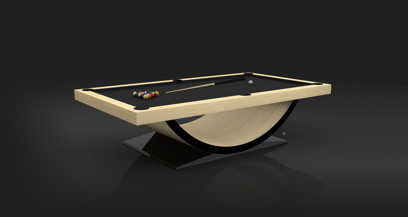 Theseus Pool Table All For Only 15k Modern Pool Table Pool Table Table