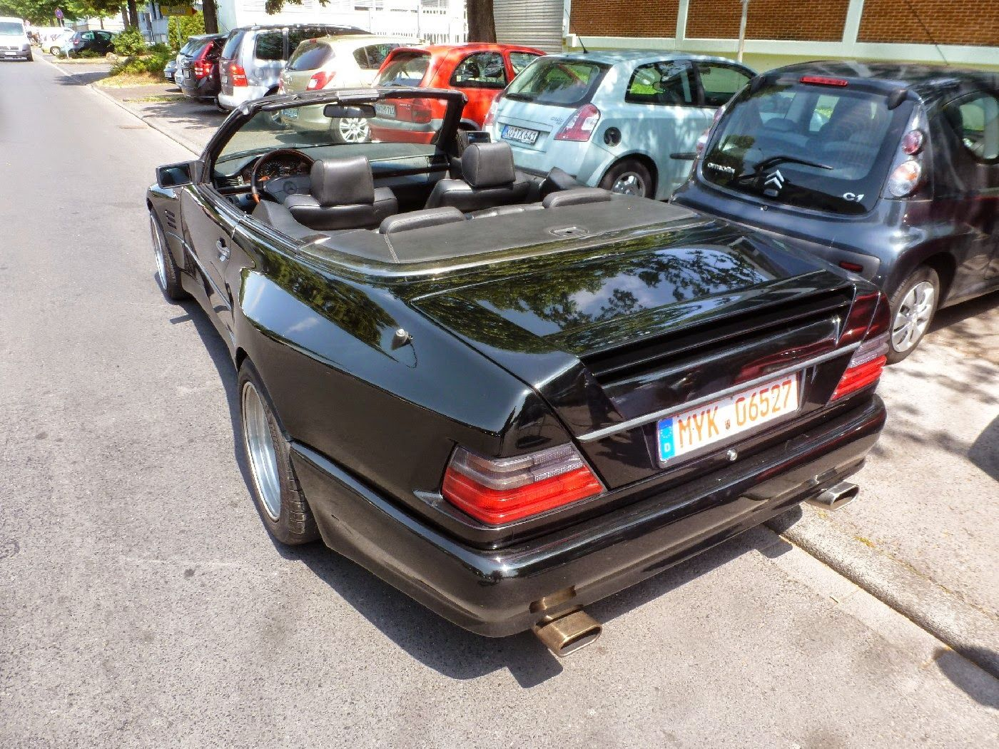 Mercedes benz w124 300ce abc widebody cabriolet mercedes for Mercedes benz car care kit