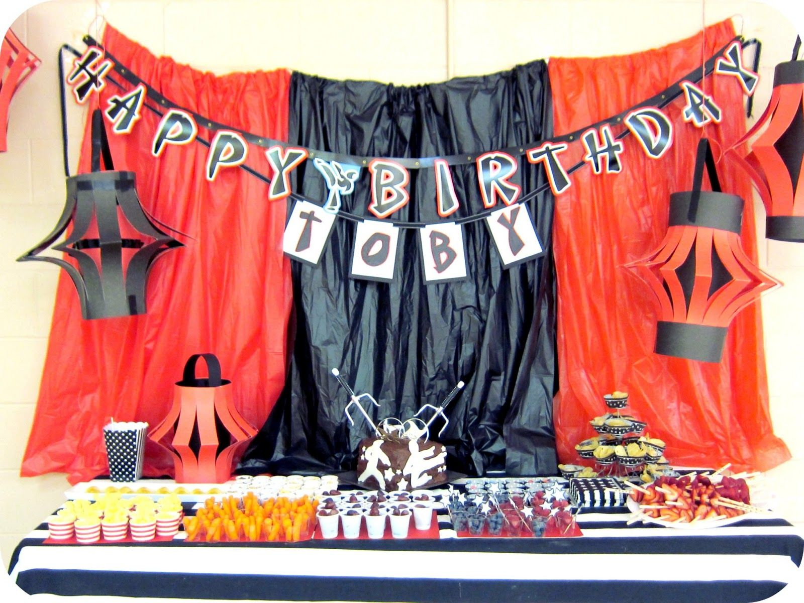 My House Of Giggles A Karate Martial Arts Ninja Party Karate Party Karate Birthday Party Ninja Party