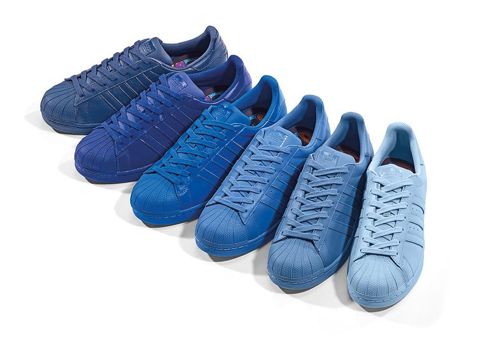 Pack Adidas X Release The Of Supercolor 50 Colors Pharrell 01Hggq