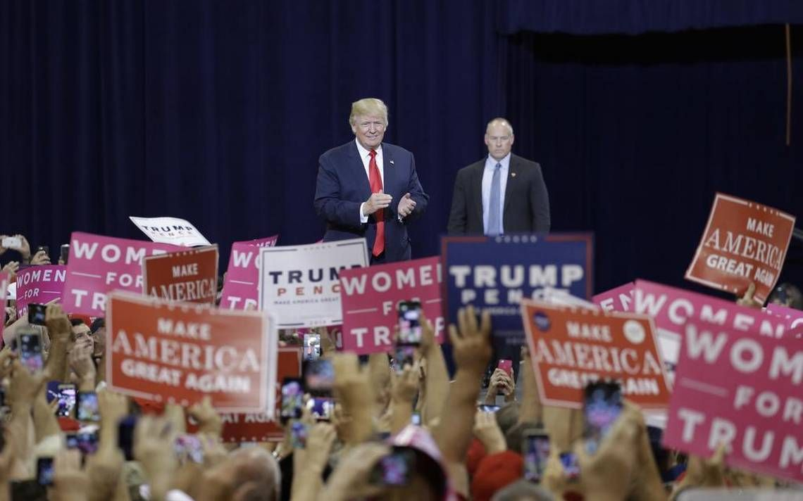 Trump tells supporters to vote twice to fight voter fraud