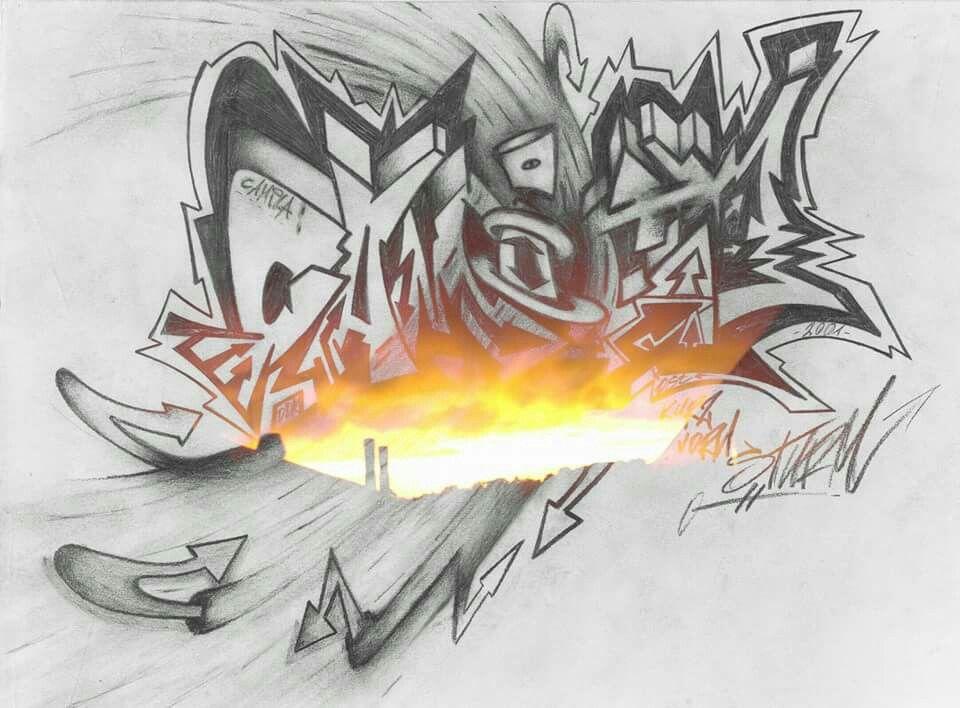 Camila Graffiti Tattoo Design Ostdezign Pinterest Graffiti