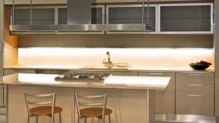 Cool Led Küchenbeleuchtung Led Leisten Küchenrückwand Beleuchten Check More  At Http://newhearmodels.
