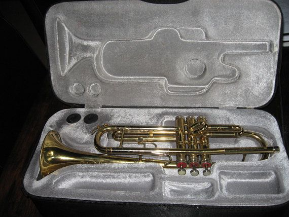 Conn Director Trumpet with Gibson Baldwin Case by