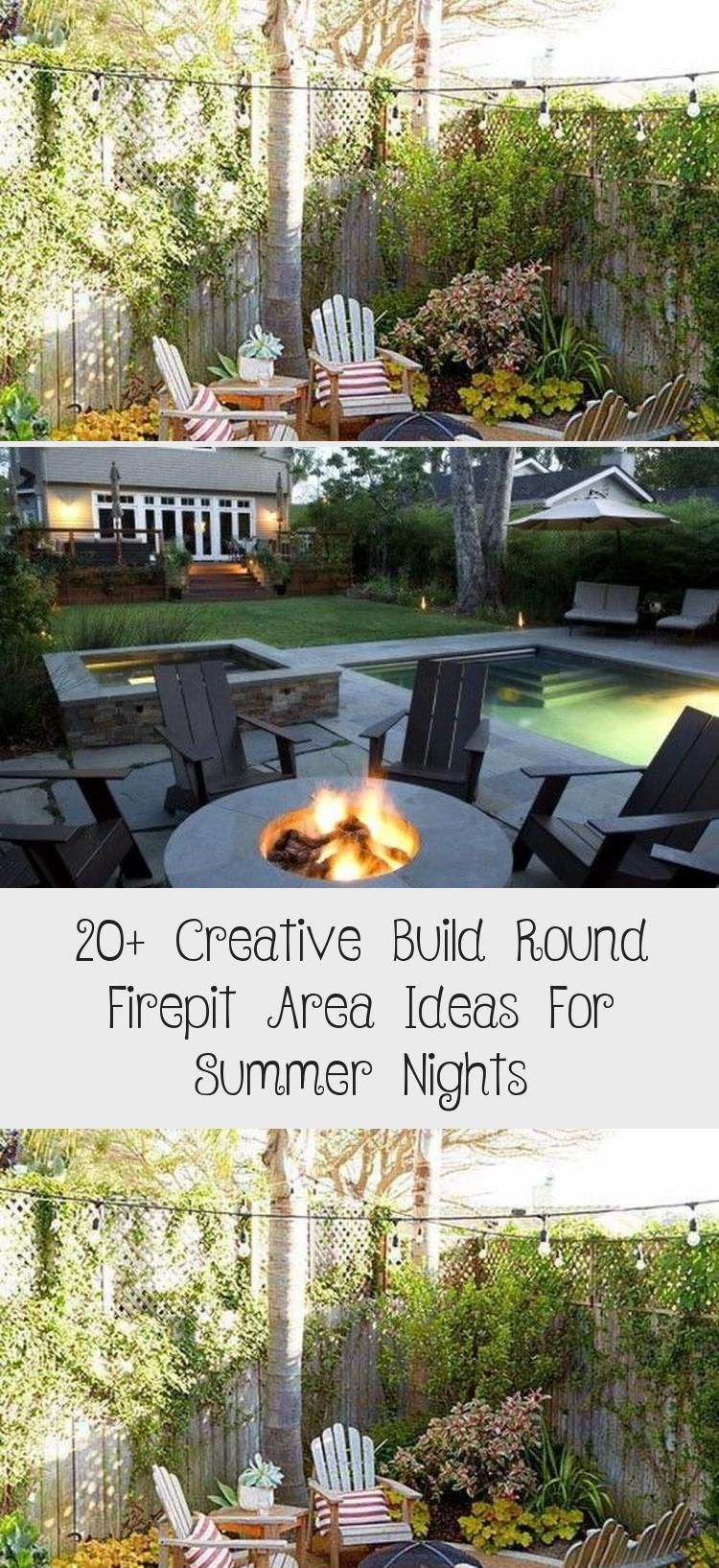 Photo of 20+ Creative Build Round Firepit Area Ideas For Summer Nights – GARDEN