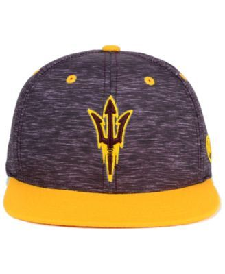 designer fashion b38aa f559b Top of the World Arizona State Sun Devils Energy 2-Tone Snapback Cap - Red  Adjustable