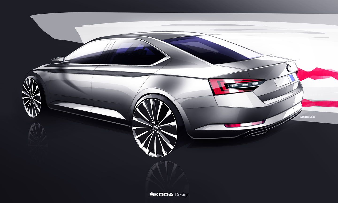 Skoda Visionc Concept Design Sketch Concept Cars Cars Uk Car