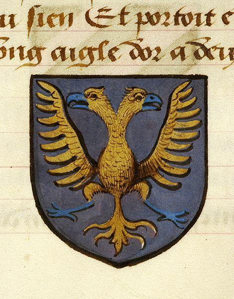 Noms, armes et blasons des chevaliers de la Table Ronde, MS M. 16 fol. 27v - Images from Medieval and Renaissance Manuscripts - The Morgan Library & Museum