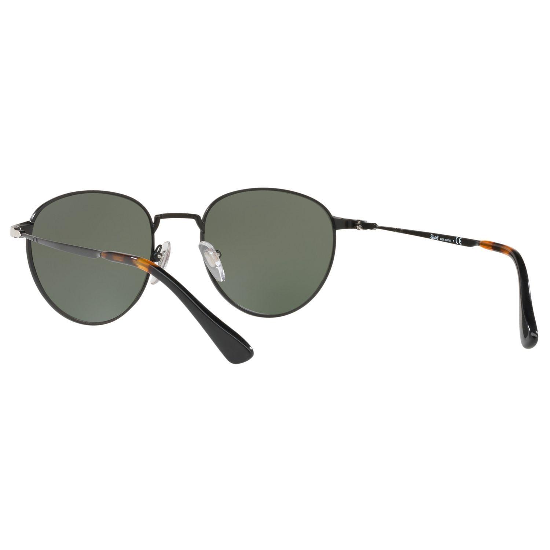 Persol PO2445S Oval Sunglasses, Black