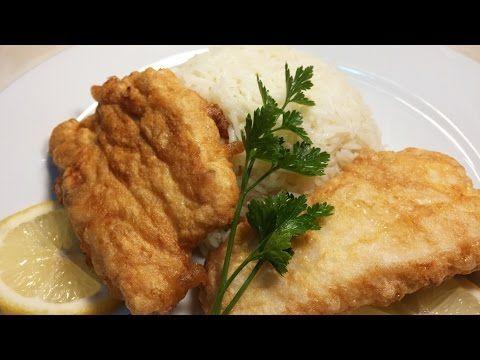 Filetes de pescado frito - YouTube