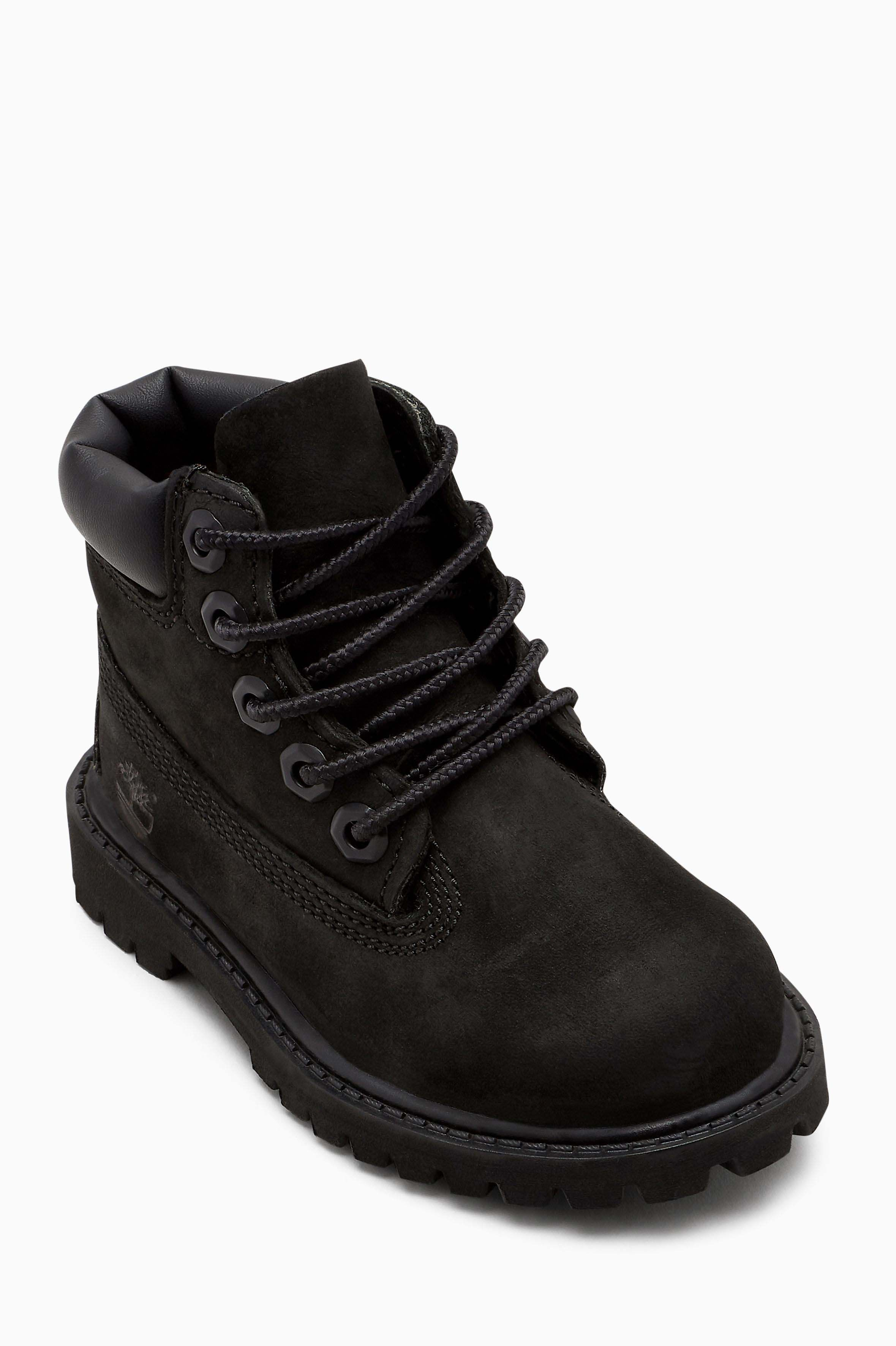 12675ac9dbb Boys Timberland Black 6 Inch Premium WP Boot - Black