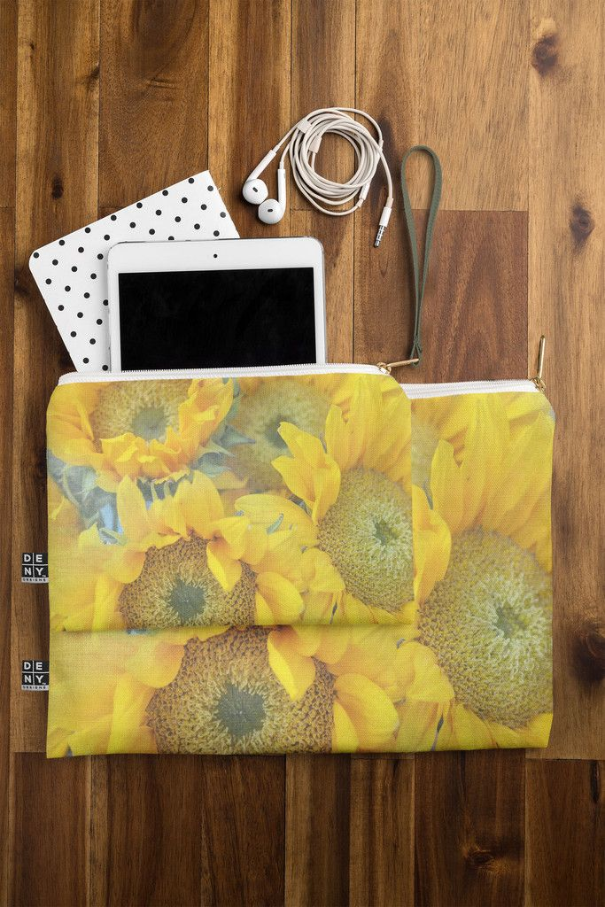 Lisa Argyropoulos Sunny Disposition Pouch   DENY Designs Home Accessories