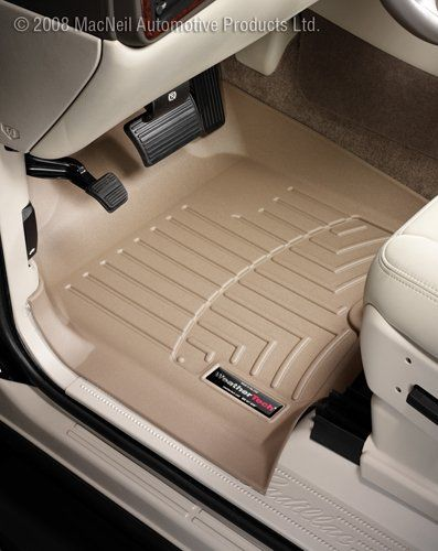 Weathertech Custom Fit Front Floorliner For Gmc Acadia Tan Click On The Image For Additional Details This Is An Affiliate Link Cleaning Painted Walls