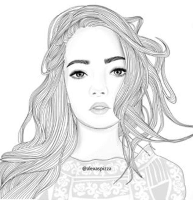 épinglé Par Fatima Halak Sur Dessin Retrato Lapiz Tumblr Et Arte