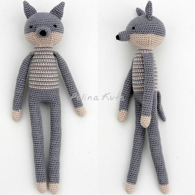 Amigurumi Patterns Wolf : Amigurumi free pattern wolf