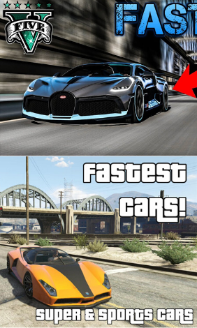 Fastest Car In Gta 5 In 2020 Fast Cars Gta Car