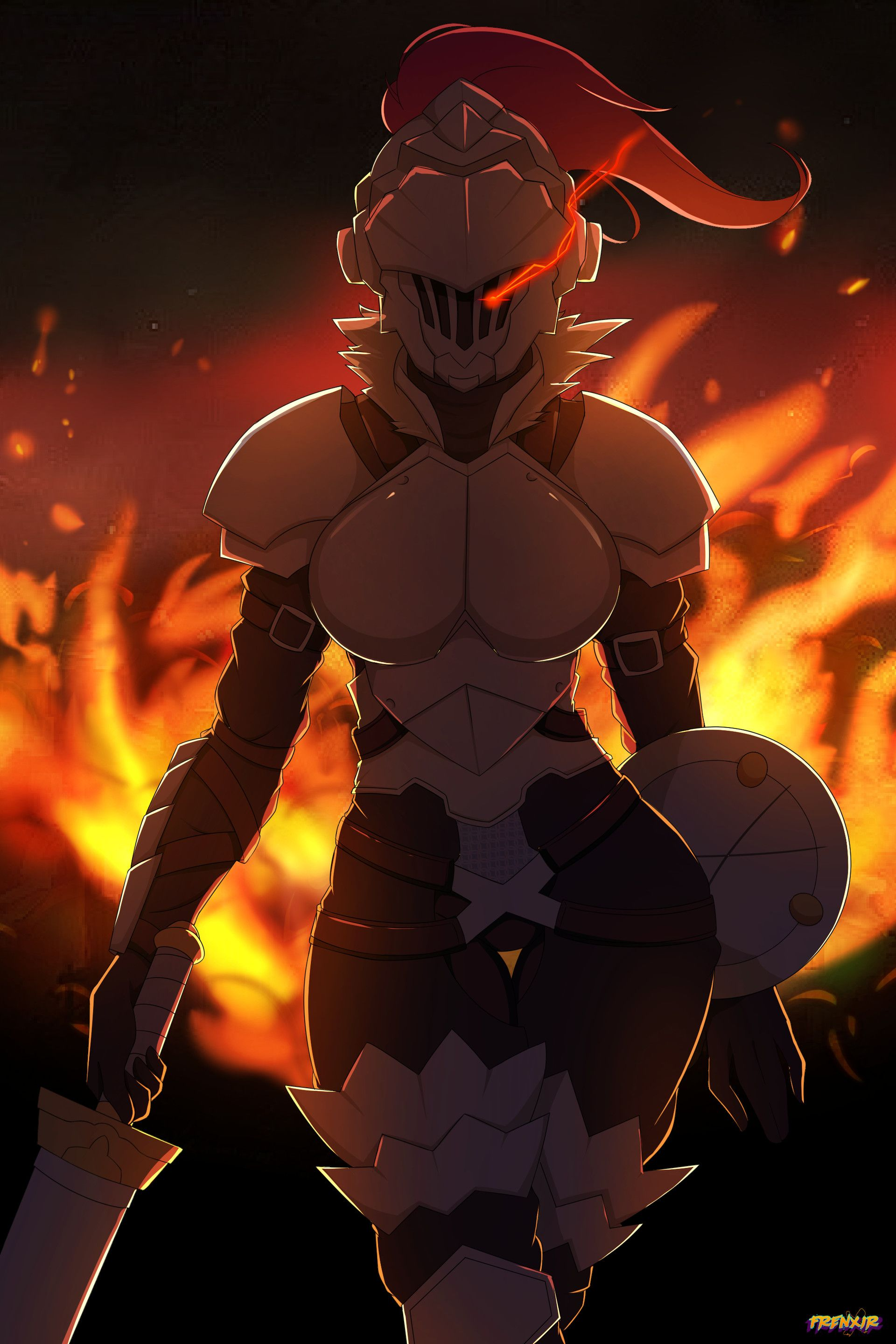Reverse Gender Female Goblin Slayer Slayer Anime Thicc Anime