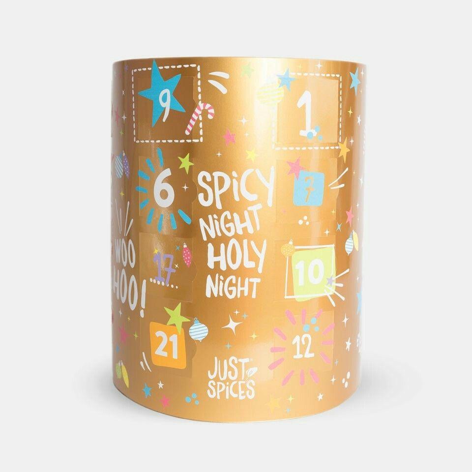 adventskalender von just spices f r 99 99 adventskalender spices. Black Bedroom Furniture Sets. Home Design Ideas