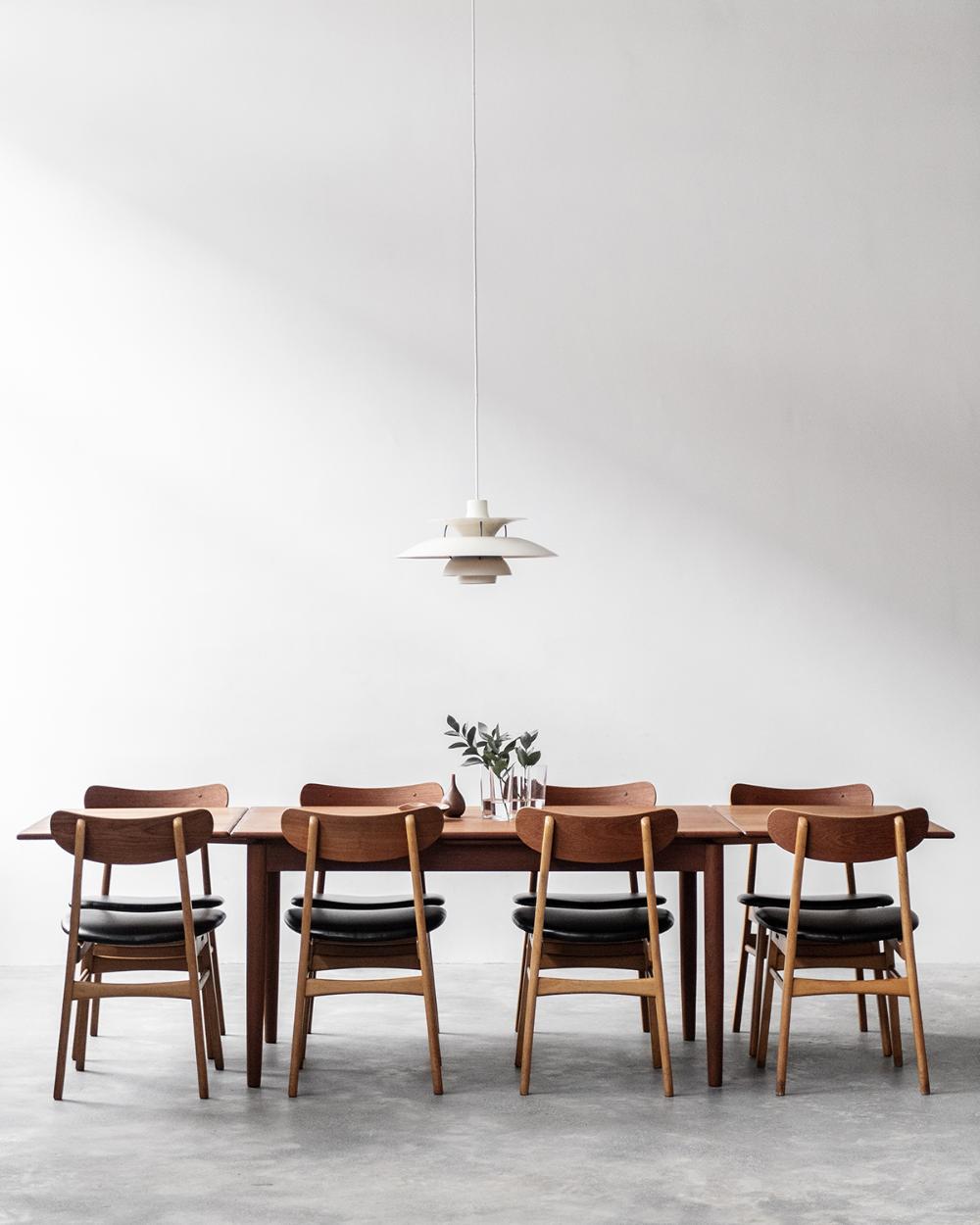 Sold Danish Dining Table Noden Original Vintage Scandinavian