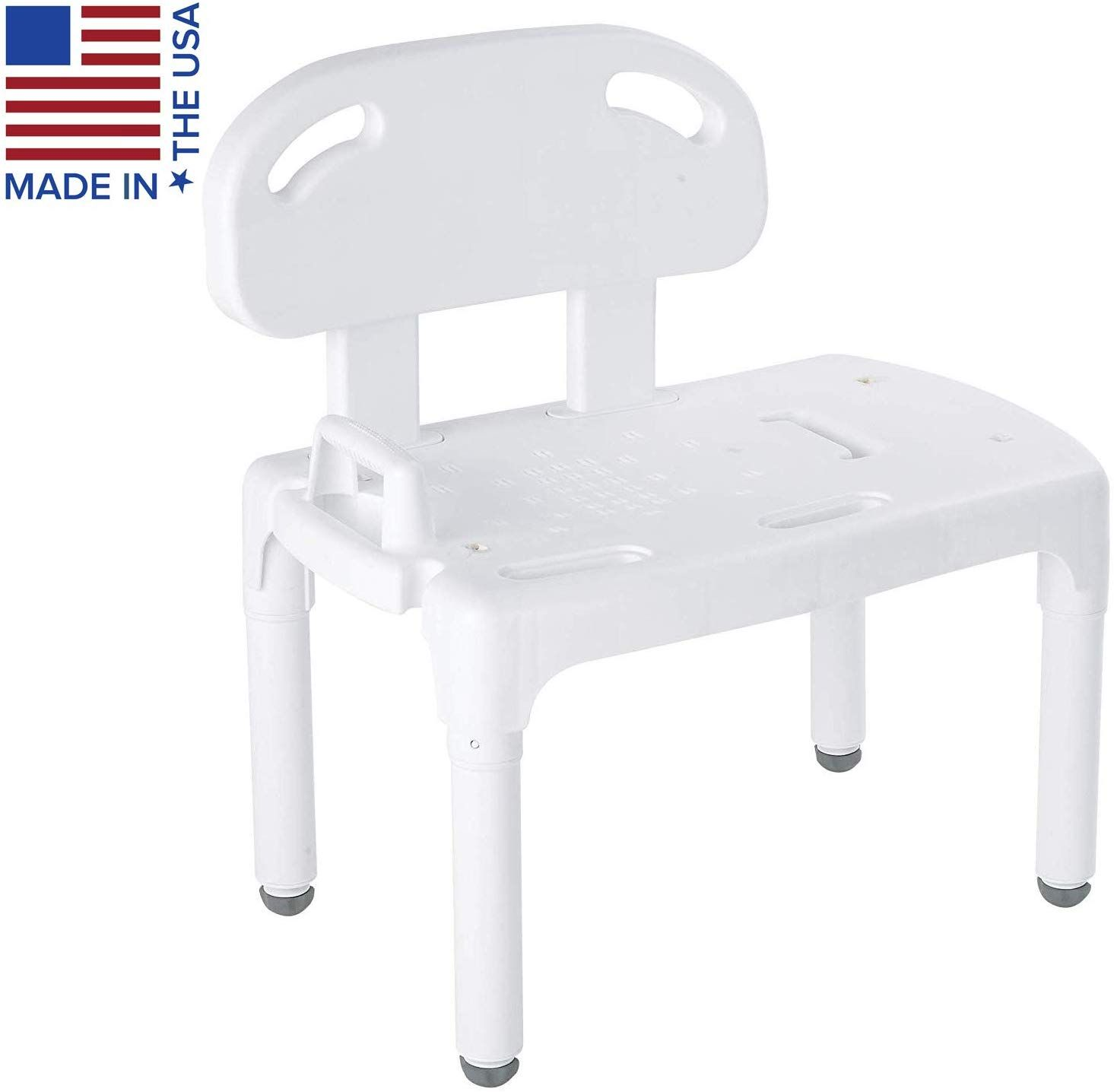 Carex Universal Tub Transfer Bench Shower Bench And Bath Seat Chair Converts To Right Or Lef Shower Chair Transfer Bench Bath Seats