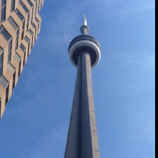 CN Tower, Toronto..Went here for a random we're board road trip with Jenny and Sarah