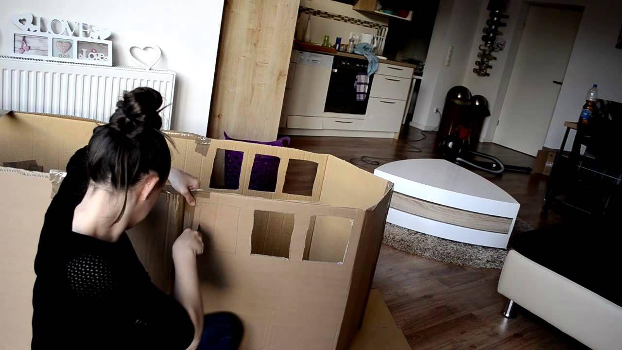 DIY - Wir bauen ein Piratenschiff aus Karton´s ...