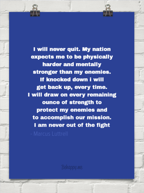 Marcus Luttrell Quotes Marcus Luttrell Quotes
