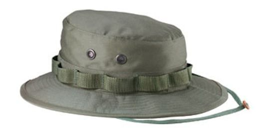2726f4614e1 Od Green Tactical Boonie Hat Ultra Force 100% Cotton Ripstop 5823 Rothco