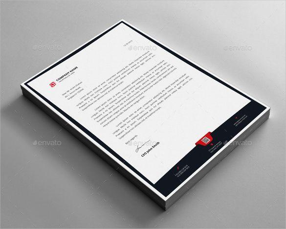 23+ Letterhead Design Templates u2013 Free Sample, Example Format - letterhead example