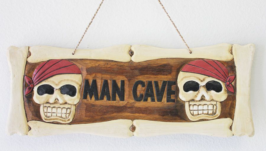 Skull Man Cave Decor : Any color faux deer skull wall mount gold white