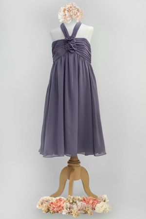 Vintage Grey Junior Bridesmaid Dresses Pinterest